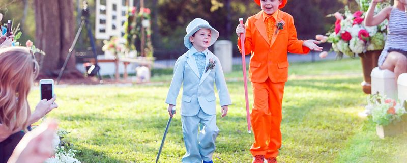 What is the Job of a Ring Bearer?