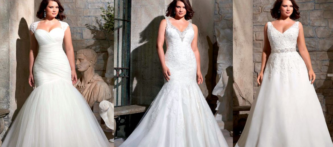Wedding dress tips for curvy brides