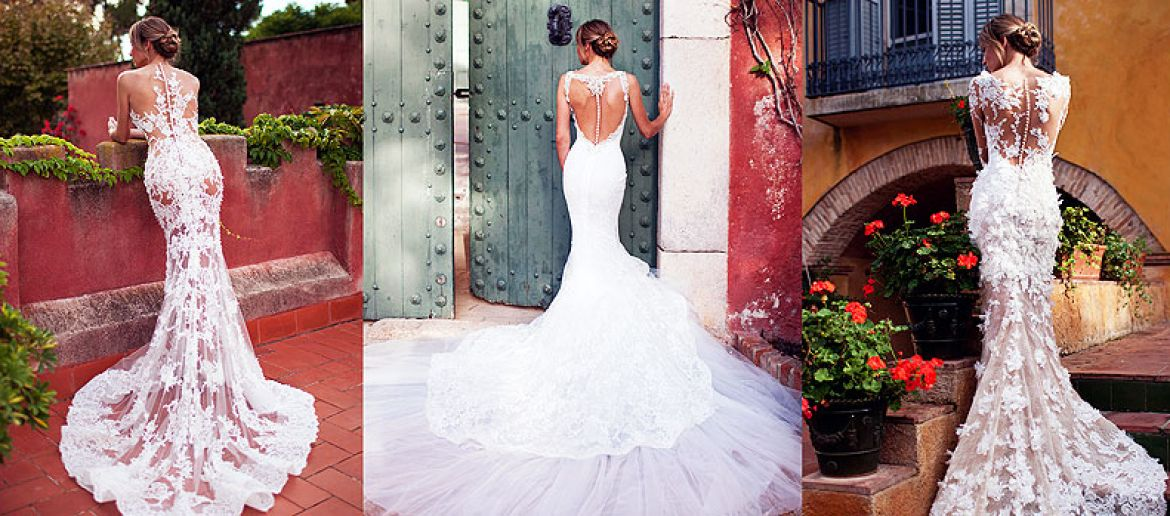 Dresses for sexy brides