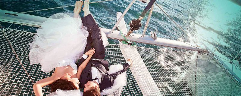 A Wedding on board. Can you imagine?