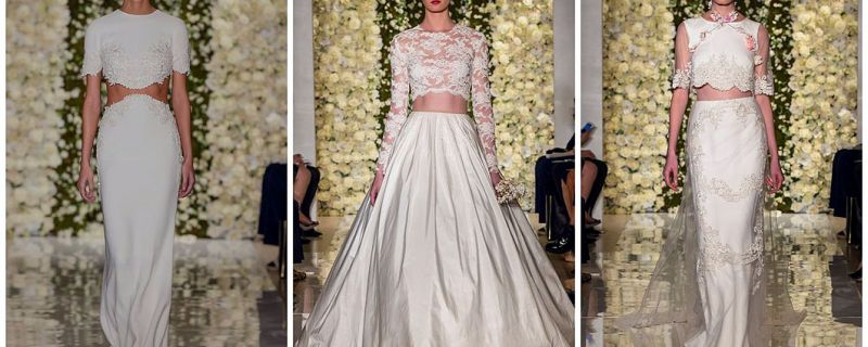 A Crop Top For Your Wedding Day