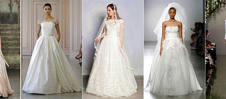 Spring 2016 Wedding Dress Trends