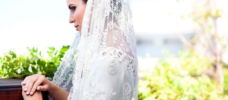 Different types of wedding veils